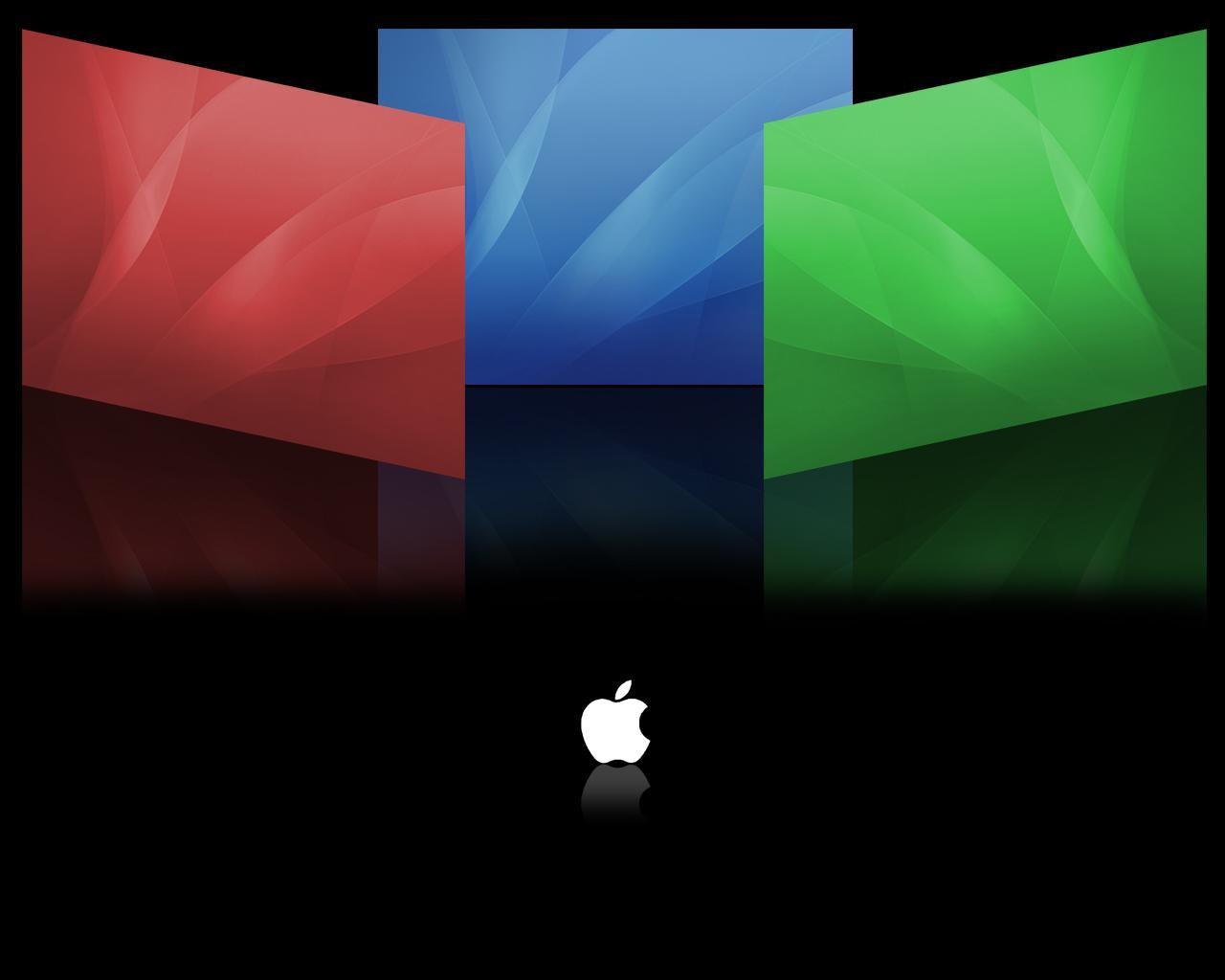 【Windows7壁纸】1280x1024高清壁纸 苹果主题