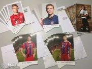 写信索求拜仁球员签名卡详细教程