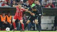 欧冠半决赛首回合 拜仁踢了一场好球仍1:2负于皇马