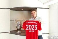官宣:穆勒与拜仁续约两年至2023年夏天