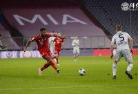 德甲第30轮 拜仁2:0勒沃库森 舒波莫廷叒进球 基米希建功