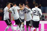 友谊赛 德国2-2法国 施廷德尔补时艰难扳平